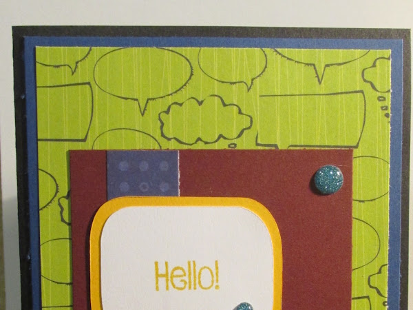 MOJO Monday 443: Hello! Hello! Card
