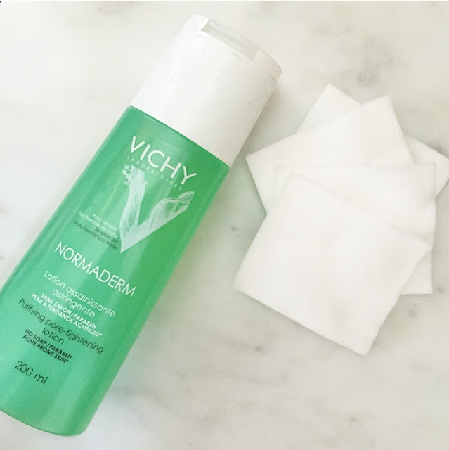 #VichyWorksForMe product review Canada Normaderm pore tightening lotion