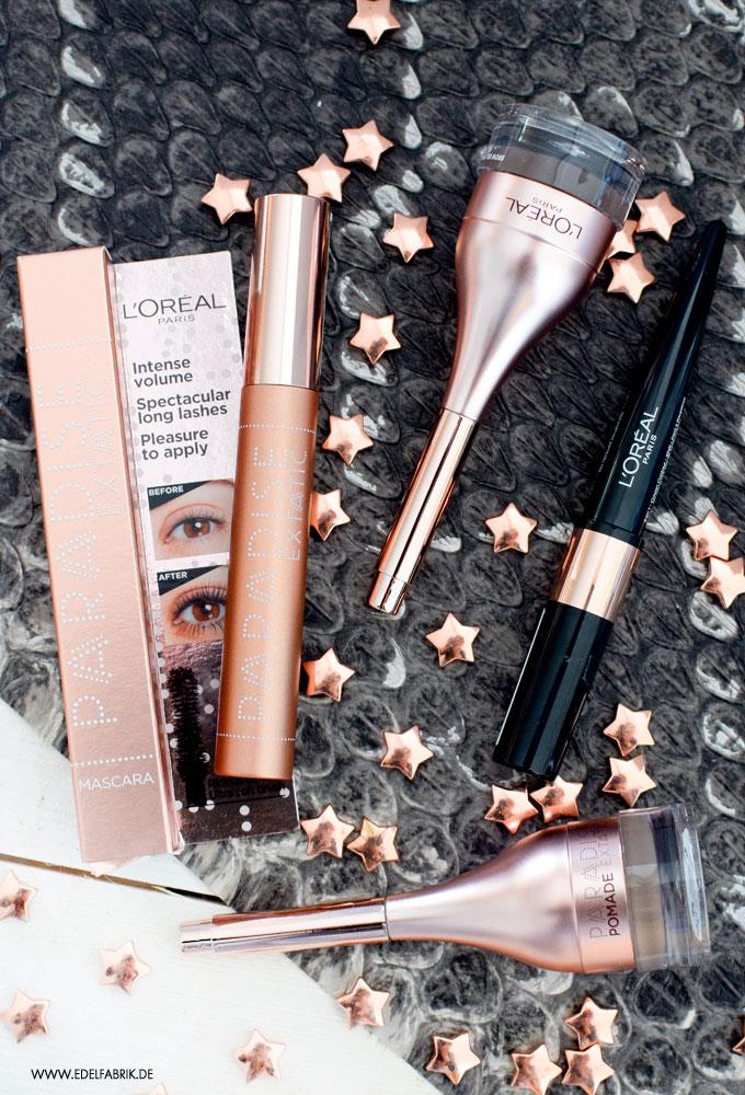 Review zur L'Oréal Paradise Wimperntusche, Test L'Oréal Paradise Mascara
