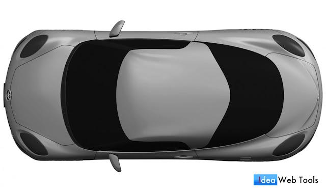 これが新型「MR2」!?トヨタが謎のミッドシップモデルのデザインを商標登録。