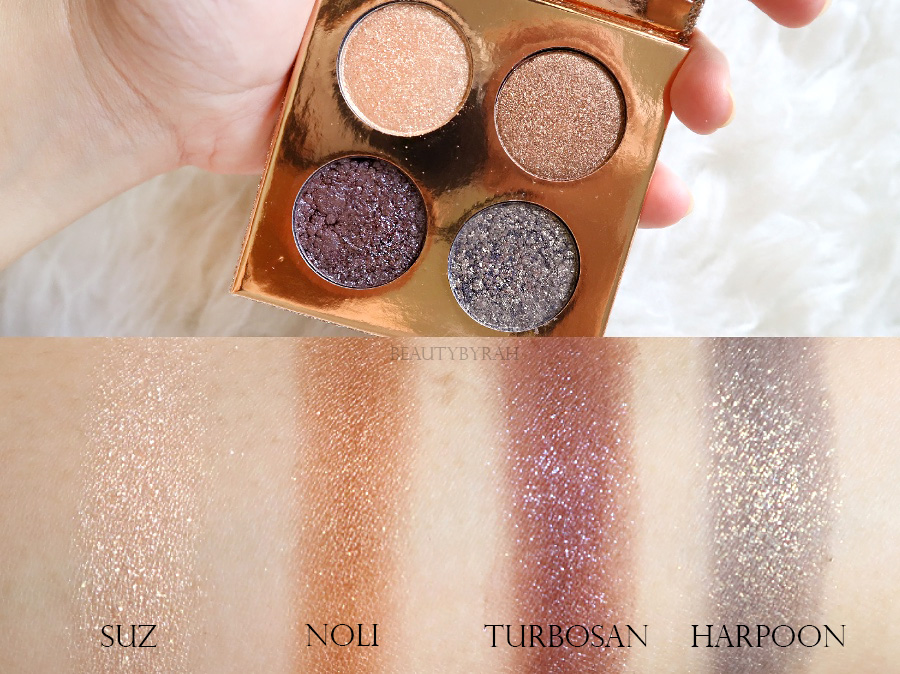 Dose of Colors DesixKaty The Girls Eyeshadow Palette swatches