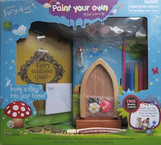 Paint your own Irish Fairy Door