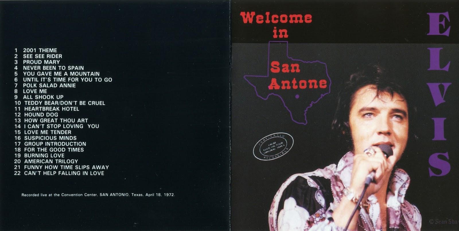 Los Mejores Bootlegs Elvis Presley Live In San Antonio