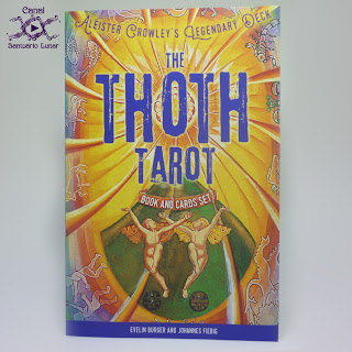 The Thoth Tarot (Sterling Ethos) - Book (Front)