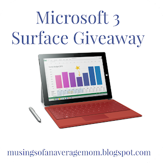 Microsoft Surface 3 Giveaway