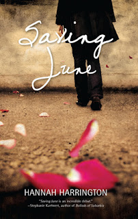 Saving June Hannah Harrington book cover