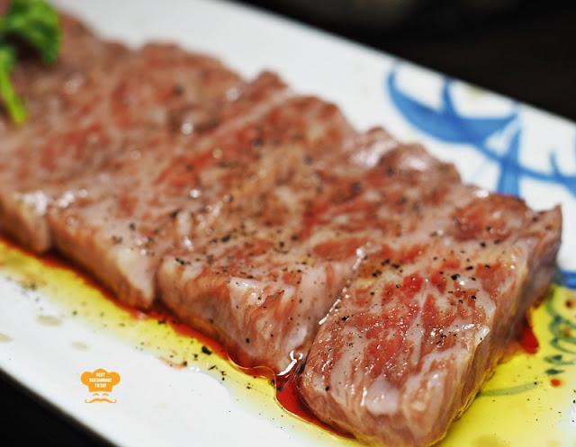 Matsuzaka Wagyu Beef Stone Grill Ishin Japanese Restaurant Old Klang Road