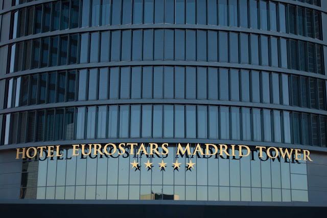 madrid cuatro torres plaza castilla spain españa eurostars