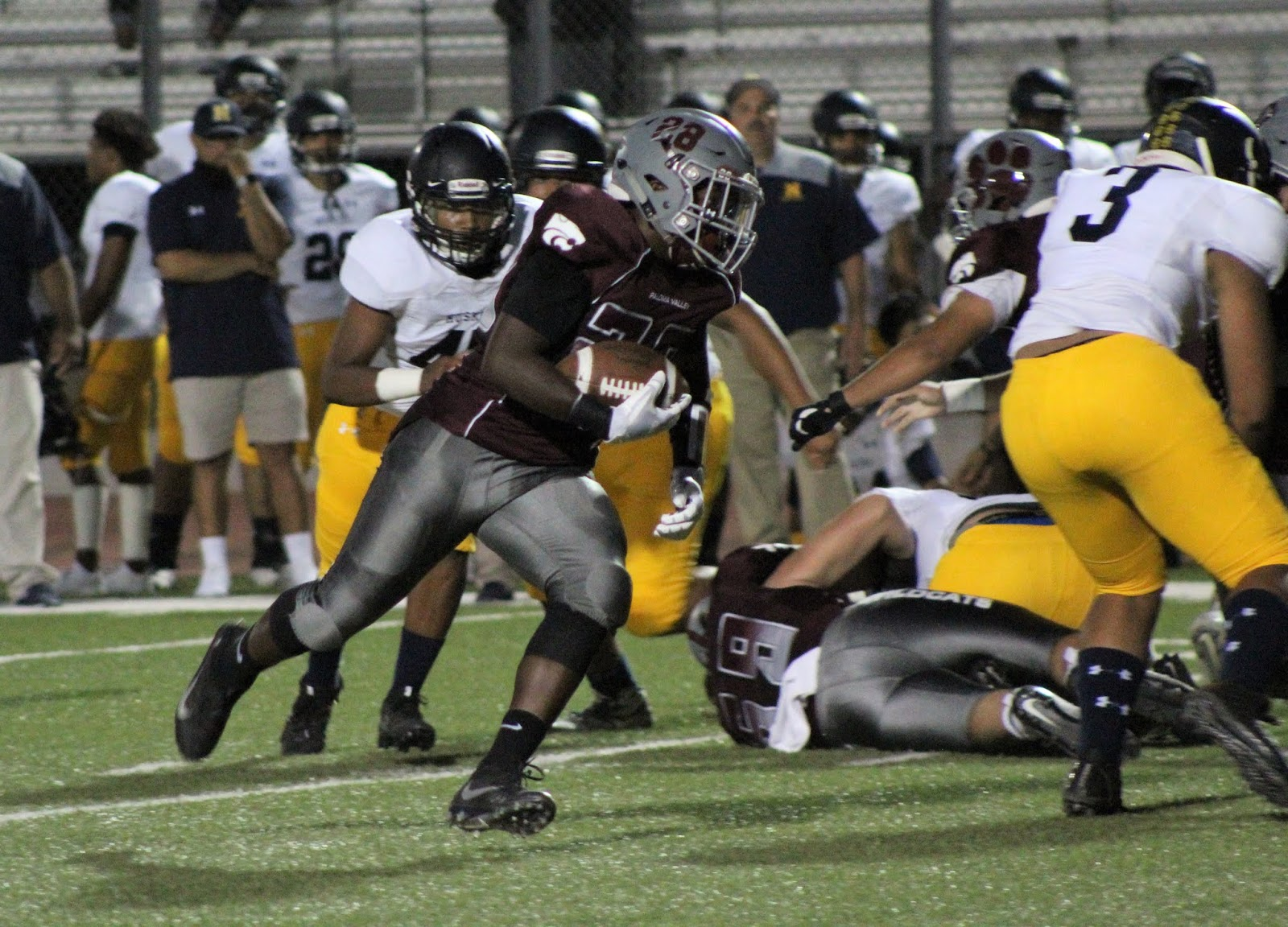 Paloma Valley Wins Home Football Opener Behind Carvalho