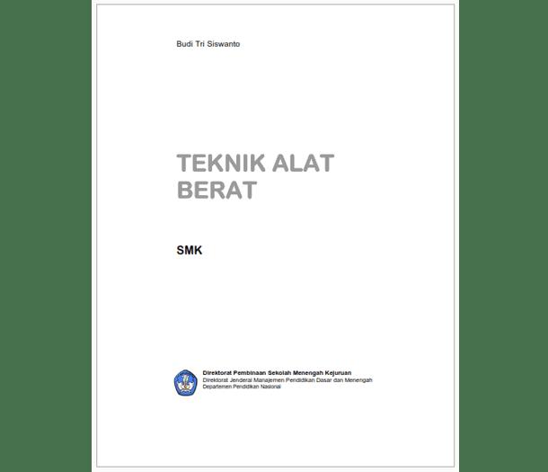 Buku SMK Teknik Alat Berat
