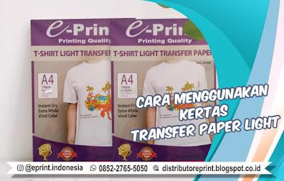 +62 852-2765-5050   Cara Menggunakan Kertas Transfer Paper Light