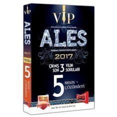 Yargı Yayınvi ALES VIP Son 3 Yılın Çıkmış 5 Sınav Soruları ve Çözümleri (2017)