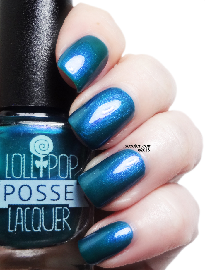 xoxoJen's swatch of Lollipop Posse Lacquer Before the Rain Began