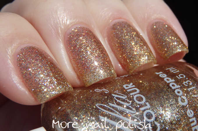 Charmed Ulta3 Released Another Polish Called Which Was A Green Glitter But This One Is Older Than That I M Sure It The Gold Shimmer In