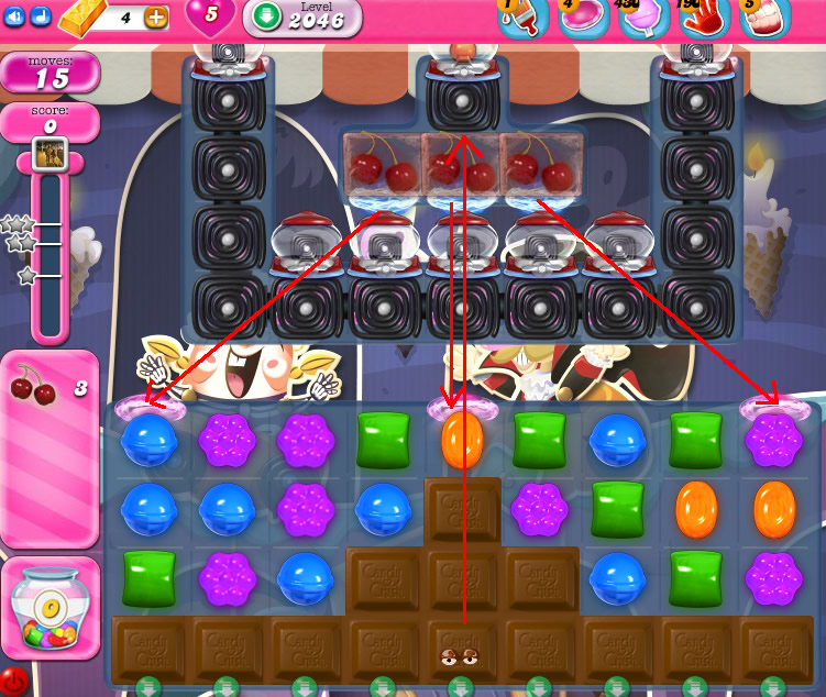 Candy Crush Saga 2046