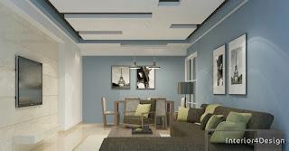 Gypsum Board False Ceiling Designs 5