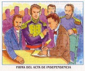 firma acta independencia guayaquil octubre