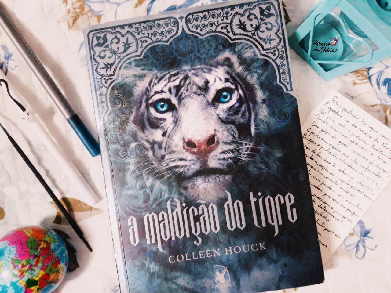 [Resenha] A maldição do tigre #1 - Colleen Houck