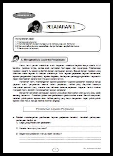 LKS bahasa Indonesia kelas 8 Kurikulum 2013