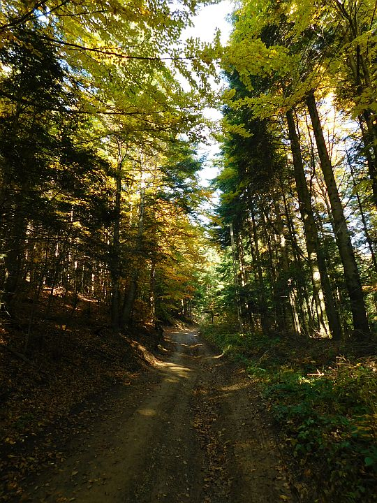 Podejście na Sularzową Górę.