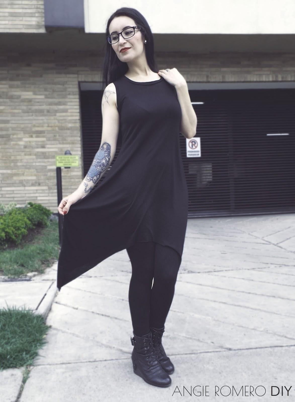 Cómo hacer vestido gótico terminación en puntas