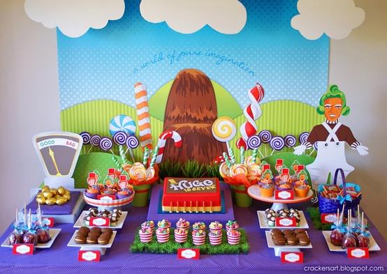 Decoración De Fiestas De Cumpleaños Infantiles De Willy