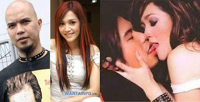 foto ahmad dhani dan maya estianty berciuman