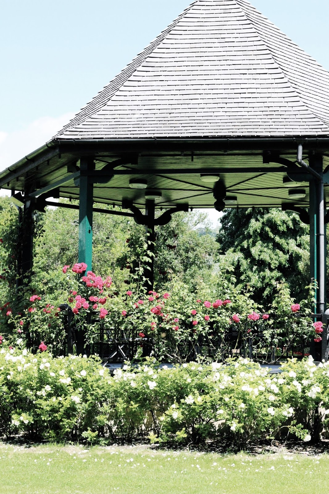 Floral Bandstand at the Parade Gardens