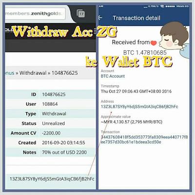 Zenithgolds membayara dalam bentuk bitcoin
