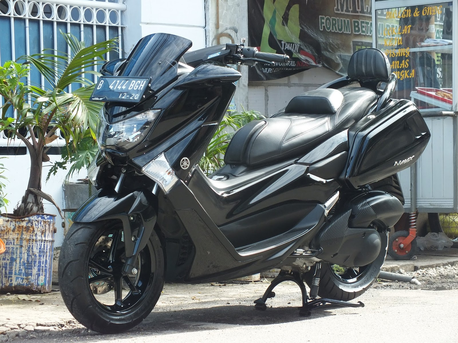 Kumpulan 69 Modif Yamaha Nmax Hitam Doff Terbaik Kempoul Motor