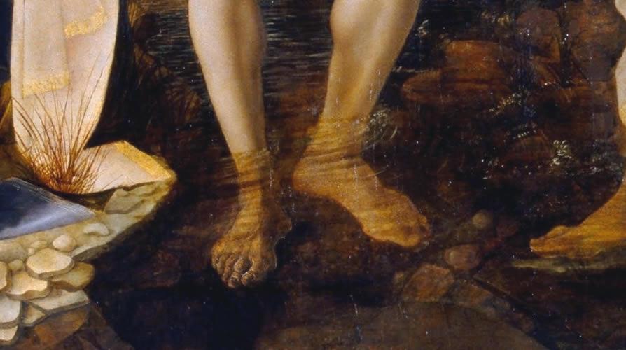 Il Battesimo Di Cristo Del Verrocchio E Le Antitesi Di