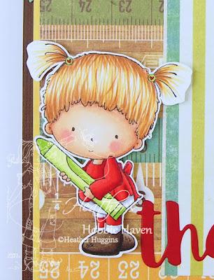 Heather's Hobbie Haven - Beatrice's Crayon & Bauregard's Pencil Card Kit