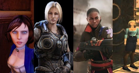 Top 5 Female Hero and Villain's in Video Games.