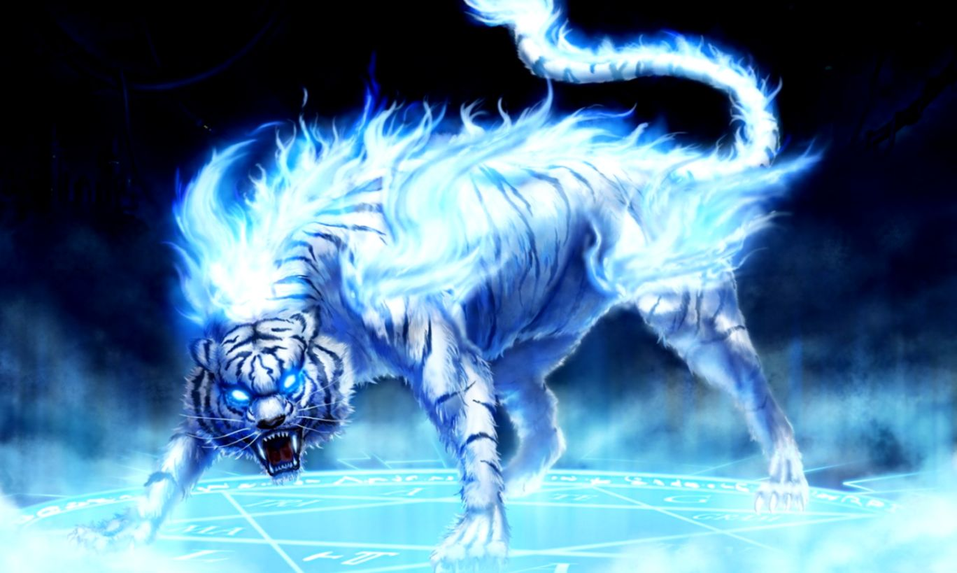 Blue Tiger Wallpaper All Hd Wallpapers Gallery