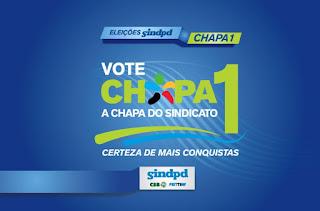 Chapa 1 do Sindpd