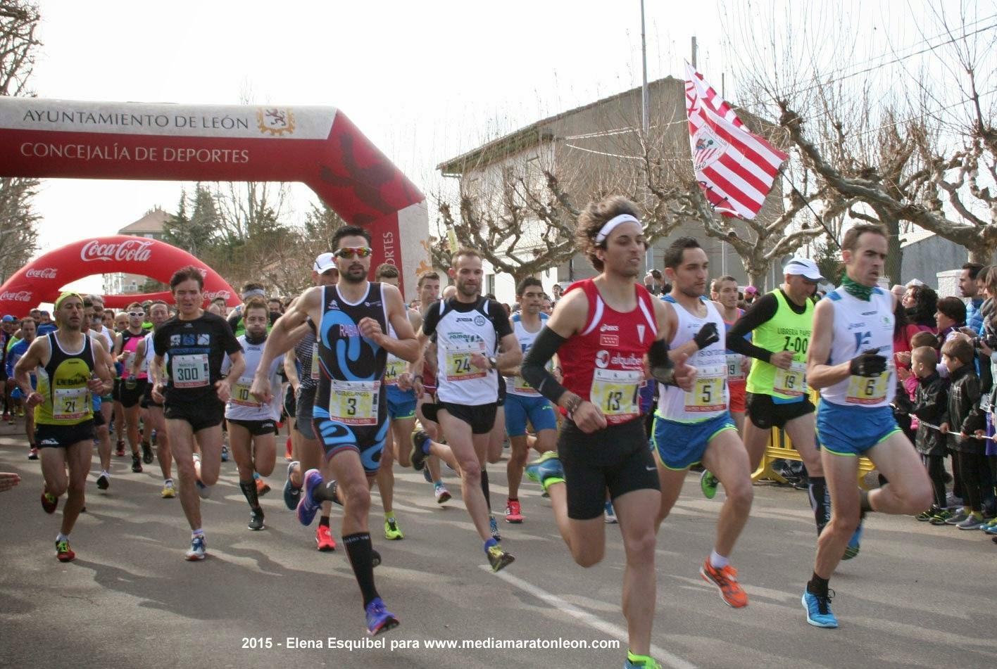 Fotografias Media Maraton Leon