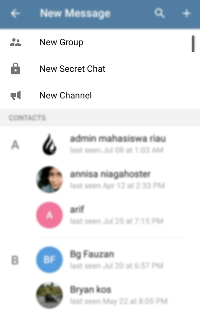 kumpulan channel telegram