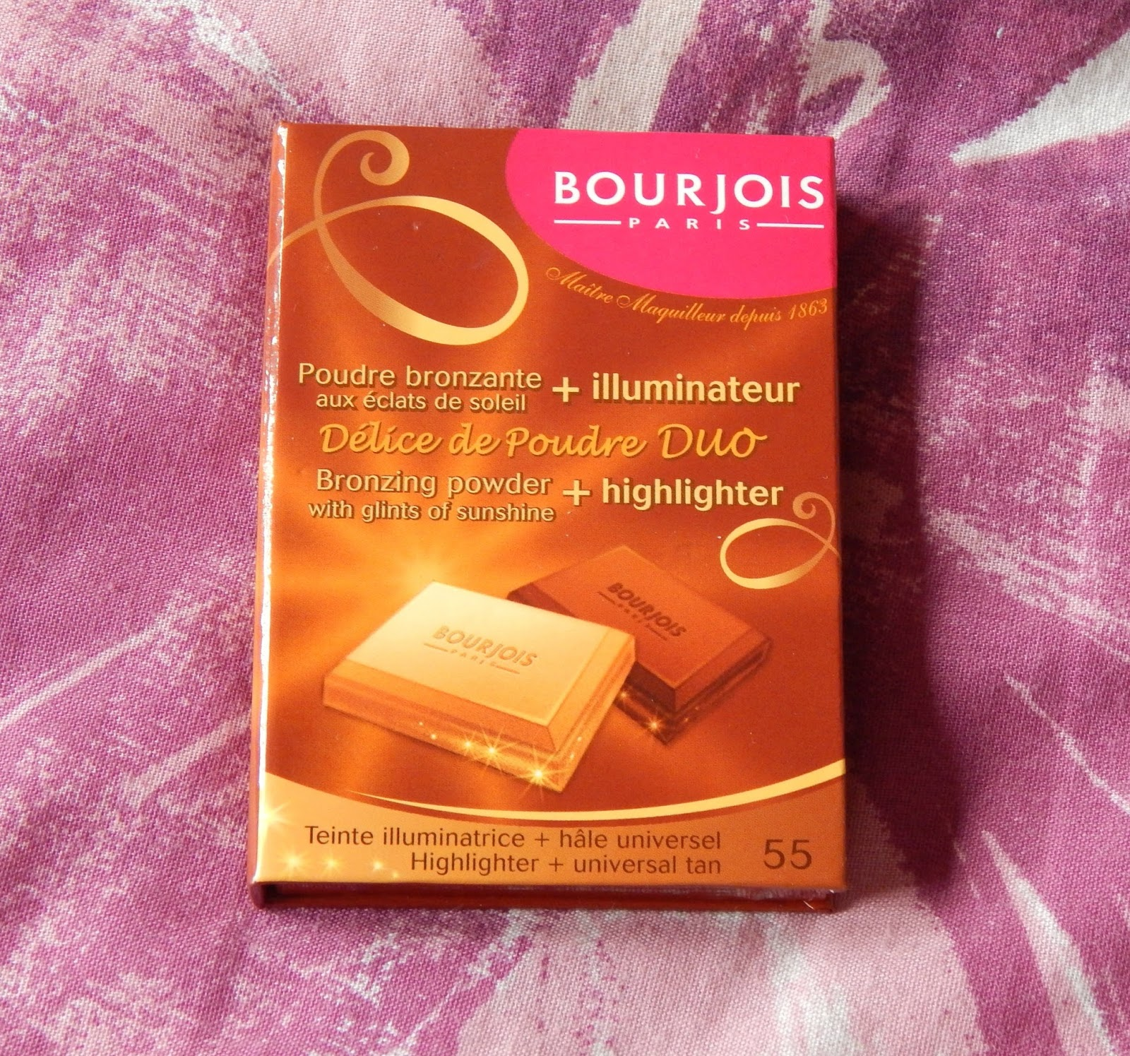 beauty waterfall bourjois delice de poudre highlighter and bronzer. Black Bedroom Furniture Sets. Home Design Ideas