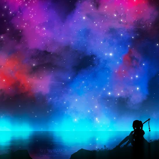 Night Sky Wallpaper Engine