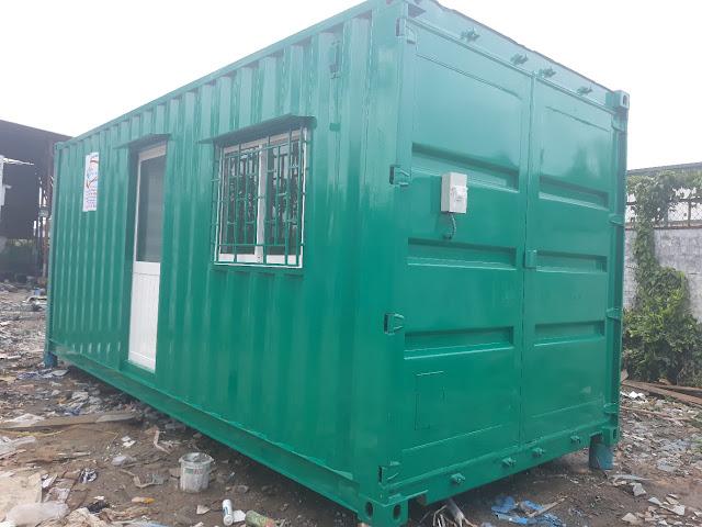 Container Văn Phòng Thiết Kế Theo Yêu Cầu