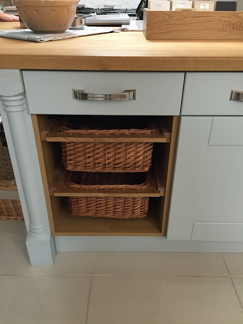 Linwood Kitchen Wicker Basket