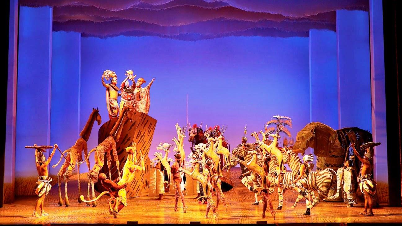 Rei Leão na Broadway em Nova York