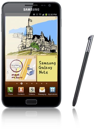 Samsung Galaxy Note receives Android 4.1 Jelly Bean software update