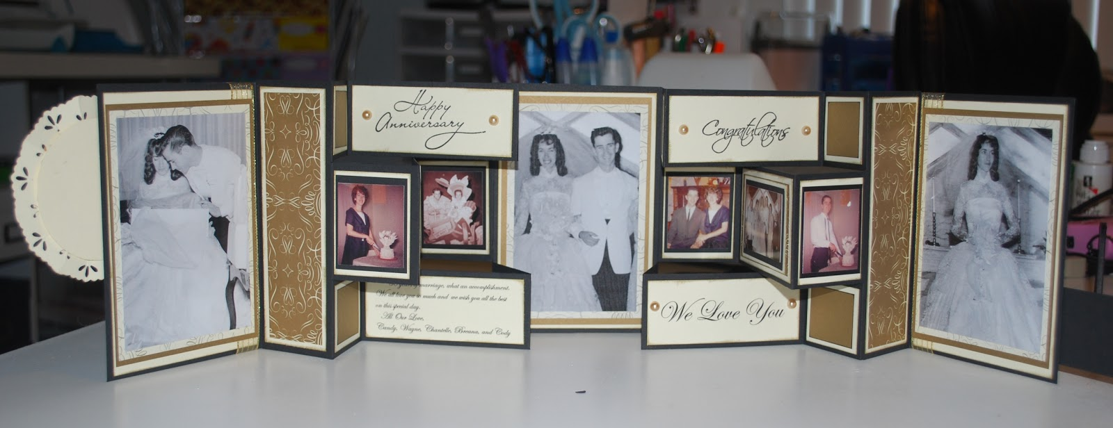 55th Wedding Anniversary Gift Ideas For Parents: Scrapbooking Ideas, Scrapbooking And 50th Wedding