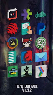 Tigad Pro Icon Pack v1.9.9 Patched