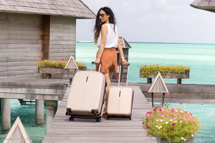 look de Blogger de moda de Valencia de viaje vacaciones en Maldivas