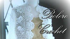 Delicado Bolero Crochet / Moldes y patrones