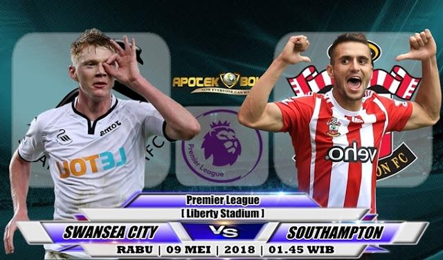 Prediksi Swansea City vs Southampton 09 Mei 2018