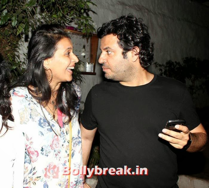 Vikas Bahl with Ishika Mohan, Vikas Bahl's Birthday Bash Photo Gallery