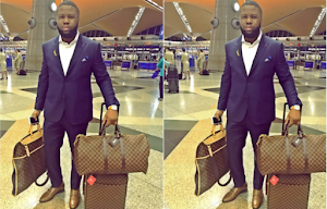 Hushpuppi shows off his collection of designer Louis Vuitton manbags worth millions (photos)